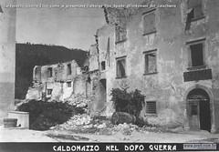 Caldonazzo Guerra Ecco come si presentava l'albergo Due Spade all'indomani del cataclisma