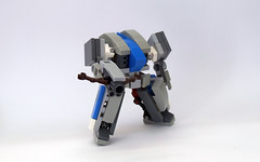 Stormcrow (alt) (dukayn66) Tags: lego mecha mech moc microscale mechaton mfz mf0 mobileframezero