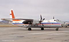 BNMAU-1506 - 1978 build Antonov An-30, withdrawn from use by 1999 but still extant in 2010 (egcc) Tags: mongolia ulaanbaatar ulanbator antonov khaan chinggis an30 1506 zmub uln miatmongolianairlines antonov30 bnmau1506 airmongol