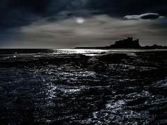 Bamburg Night (Steve Whitham - BGphotography) Tags: lighting colour landscape emotion northumberland impact moods feelings bamburghcastle