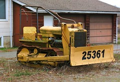 Caterpillar Model 20 (Custom_Cab) Tags: caterpillar cat twenty 20 two 2 tractor bulldozer old vintage antique 1920s 1930s 25361 house number street road address dozer crawler model