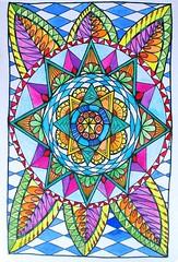 Zendala 1 (kraai65) Tags: drawing mandala doodle zentangle zendoodle zendala