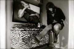 Clio Zebraschrank 2:14 - 020 (Clio Schatz) Tags: stockings crossdressing heels fsse nylon footfetish ladyboy dwt