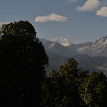 Dhaulagiri over the ridges between thumbnail
