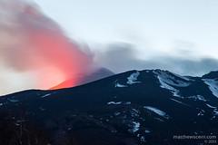 Mt. Etna, twilight (matthew.scerri) Tags: travel italy mountain trekking trek volcano climb mount climbing mountaineering sicily etna mtetna