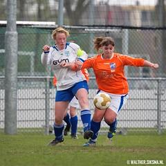 WS20140405_6503 (Walther Siksma) Tags: holland soccer voetbal gelderland unicum 2014 sdc putten damesvoetbal sdcvrouwen1 vvunicumvrouwen2