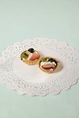 (Lesley Rivera) Tags: lighting food studio dessert nikon doily seamless d800