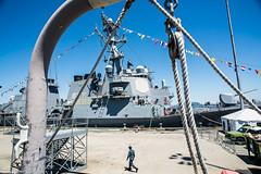 USS McFaul (John Skelson) Tags: nyc newyorkcity nikon waterfront statenisland usscole usnavy fleetweek newyorkharbor nikond600 workingharborcommittee usnavalship nikon28300mmlens nikon20mm28dlens fleetweeknyc2014