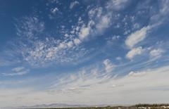 Cielo (carmenlopez573) Tags: sea sky texture textura beach clouds mar salt playa salinas fields cloudscape cirrus santapola cirro openn