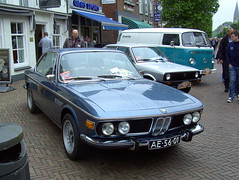 1972 BMW 3.0 CSi (Davydutchy) Tags: auto holland classic netherlands car 30 automobile ride rally nederland bmw oldtimer friesland csi niederlande klassiker joure fryslân veterán automobiel vroem paybas vroem2015