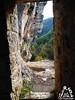 Camminamento Oratorio - Eremo di San Bartolomeo in Legio - Majella - Abruzzo - Italy