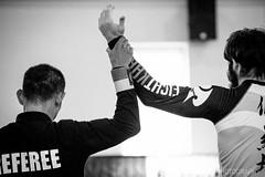 勝 Win / Taipei, Taiwan (yameme) Tags: sports monochrome canon eos taiwan taipei 台灣 黑白 台北市 brazilianjiujitsu 運動 南港運動中心 單色 巴西柔術 5d3 5dmarkiii 胖白 70300mmlis