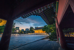 Frame within a frame! (KOLYO_99) Tags: road street old city travel sunset color history me beautiful skyline architecture canon landscape fun asia raw cityscape photographer village nightscape outdoor like palace korea korean seoul saudi area daytime khalid  namsan     14mm      samyang tamron2470  rokinon