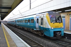 Arriva Trains Wales Coradia 175103 (Will Swain) Tags: 20th january 2017 train trains rail railway railways transport travel uk britain vehicle vehicles country england english cheshire north west south county seen warrington bank quay station arriva wales coradia 175103 class 175 103