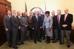 03-02-17 Regional Council Directors Meet with Gov. Bentley
