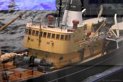 Boston Seafire Model Ship (Bri_J) Tags: hullmaritimemuseum hull eastyorkshire uk yorkshire museum maritimemuseum nikon d7200 bostonseafire modelship trawler