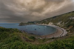 The Cove Mood Scene (PRH Photography) Tags: ngc lulworth cove photo sea water ocean dorset coastal moody cloudy beautiful