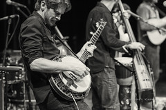 have a cigar... (J. Kaphan) Tags: elephantrevival centerforthearts jacksonhole wyoming concertphotography concert livemusic livemusicphotography music musician musicphotography banjo bluegrass blackwhite blackwhitephotography monochrome monochromephotography nikon