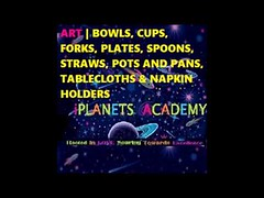 ART | Bowls, Cups, Forks, Plates, Spoons, Straws, Pots And Pans, Tablecloths & Napkin Holders https://youtu.be/u5fN8iKsD-c iPlanets Academy (Root N Wings Christian Learning Center) Tags: ifttt youtube art | bowls cups forks plates spoons straws pots and pans tablecloths napkin holders iplanets academy