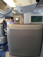 ANA Premium Class (PYONKO) Tags: japan ana nh 777 firstclass domesticflight ja741a
