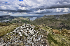 Beda Head (mjb868) Tags: mountains clouds walking landscape nationalpark scenery solitude lakes lakedistrict rocky trail cumbria fells mountaineering vista peaks tarn rugged rambling moorland d7000 mjb868
