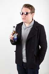 Charley Carroll for Guinness Black Lager (reallocalcelebrity) Tags: portrait beer friend guinness canonef2470mmf28l subism blacklager charleycarroll guinnessblacklager