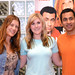 Kal Penn and Kate Walsh USO Tour