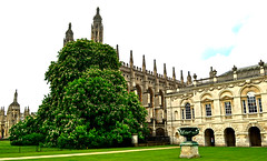Kings College, Cambridge (Travis Pictures) Tags: city uk cambridge summer england tourism photoshop nikon britain tourists cambridgeshire eastanglia cambridgeuniversity cambs d3100