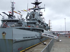 HMS Mersey (DSCF9939) (AngusInShetland) Tags: scotland tallships shetland lerwick tallshipsrace sailtraining p283 hmsmersey