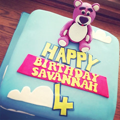 Toy Story 2 Lotso Bear Cake