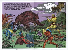 Boys Ranch #04 by Jack Kirby (Derek Langille) Tags: ranch art boys comics jack spread dc kirby comic double page marvel jackkirby