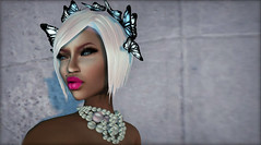 !Lybra! @ l'accessories (Carley Benazzi) Tags: pink hair acid butterflies jewelry boom nyu blush couture deesses lybra pinkacid nyunyu laccessories