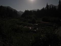 Mt Rainier (joeball) Tags: camping white west night river stars fork moonlight s90