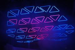 GRID audiovisual live show (WHITEvoid) Tags: light art robert design performance basel led kinetic monolake interactive messe kineticsculpture henke kineticart whitevoid audiovisual christopherbauder 2013 kineticlights