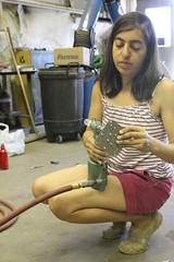 "Natalie makes rivet art • <a style=""font-size:0.8em;"" href=""http://www.flickr.com/photos/27717602@N03/9551464136/"" target=""_blank"">View on Flickr</a>"