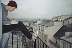 various 2010-2013 (oceancalling) Tags: winter paris france cityscape view balcony montmartre