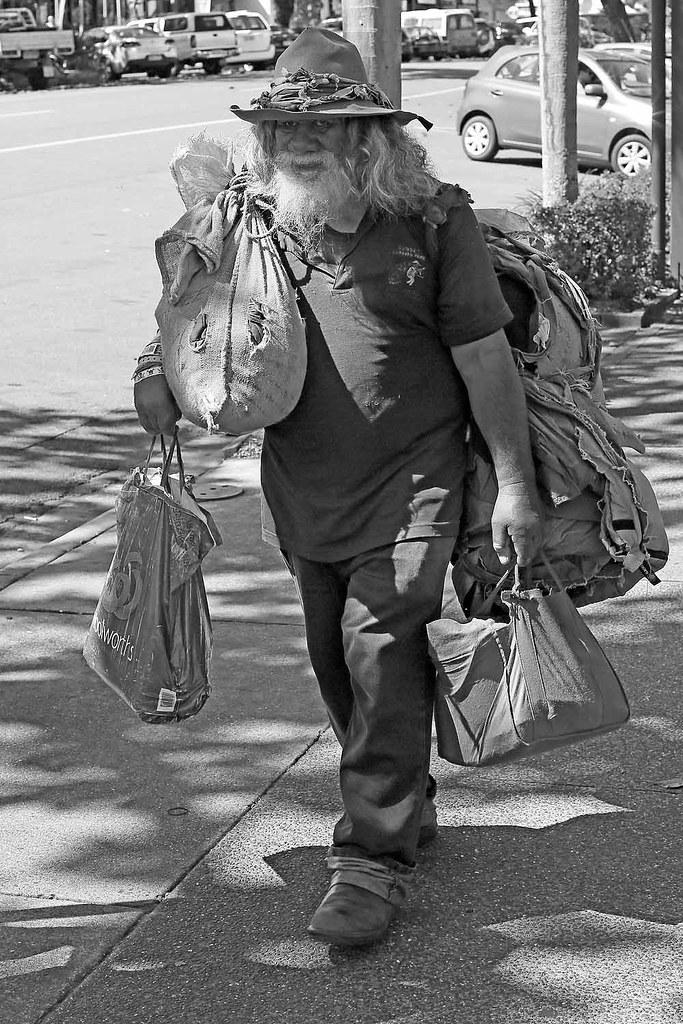 Swagman (Jomak1) Tags  street white black male senior monochrome hat port  beard photography 718dc514b6fe