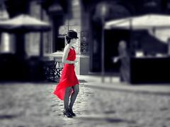 La ballerina di tango II (De Mi Ser) Tags: argentina buenosaires tango laboca tangodancer tanguera tanguero