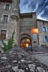 Ardche - Largentire (V.Rog) Tags: light castle night lumire medieval age chateau nuit moyen