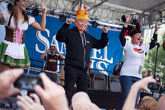 George Takei (mycuteladybug) Tags: oktoberfest georgetakei chickendance