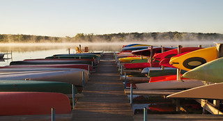 Morning Color Canoes