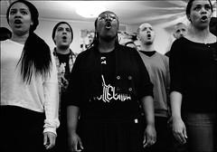 Gospel (Hasse Linden) Tags: blackandwhite bw musician music choir nikon singer gospel d700 vision:people=099 vision:face=099 vision:groupshot=099