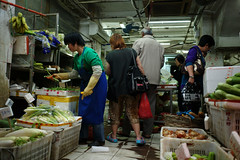 Cosmositic X Chaotic () Tags: street leica city people shopping hongkong chaos market candid voigtlander 28mm stranger m9 shamshuipo f19 mmount