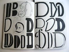 Tipari de sof_D (xelo garrigs) Tags: moleskine letters alphabet lettering letras alfabet esboos lletres xelo garrigs