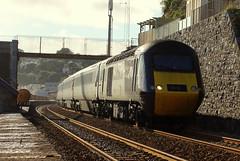 43357 - Dawlish (danny444043) Tags: sea car wall power leeds plymouth crosscountry devon xc 43 hst dawlish 43357