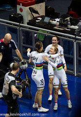 The women's team pursuit team celebrate yet another world record, Track World Cup cycling, Manchester (www.kevinoakhill.com) Tags: world pictures november hot laura records cup smile smiling manchester happy photography cycling cyclists fan photo amazing team rainbow hug kevin track king photos oakhill britain events great picture atmosphere indoor dani movember professional indoors gb jersey record british fans barker friday spectators velodrome pursuit supporters trott boiling worldrecord elinor worldchampions 2013 daniking trackcyclingworldcup trackworldcup lauratrott elinorbarker trackworldcupcycling