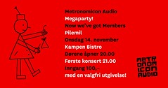 "Metronomicon Audio Megaparty Oslo • <a style=""font-size:0.8em;"" href=""http://www.flickr.com/photos/38263504@N07/10982327496/"" target=""_blank"">View on Flickr</a>"