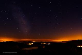 Starry Night. La noche estrellada.