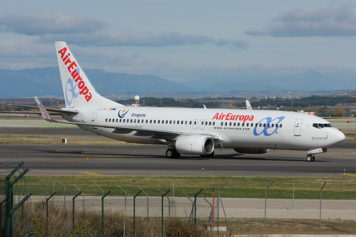 EC-JBJ Air Europa 737-85P Madrid 10/11/2013