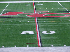 (Shane Henderson) Tags: red white black green field logo footballfield fc 50yardline foxchapel foxchapelareahighschoolstadium